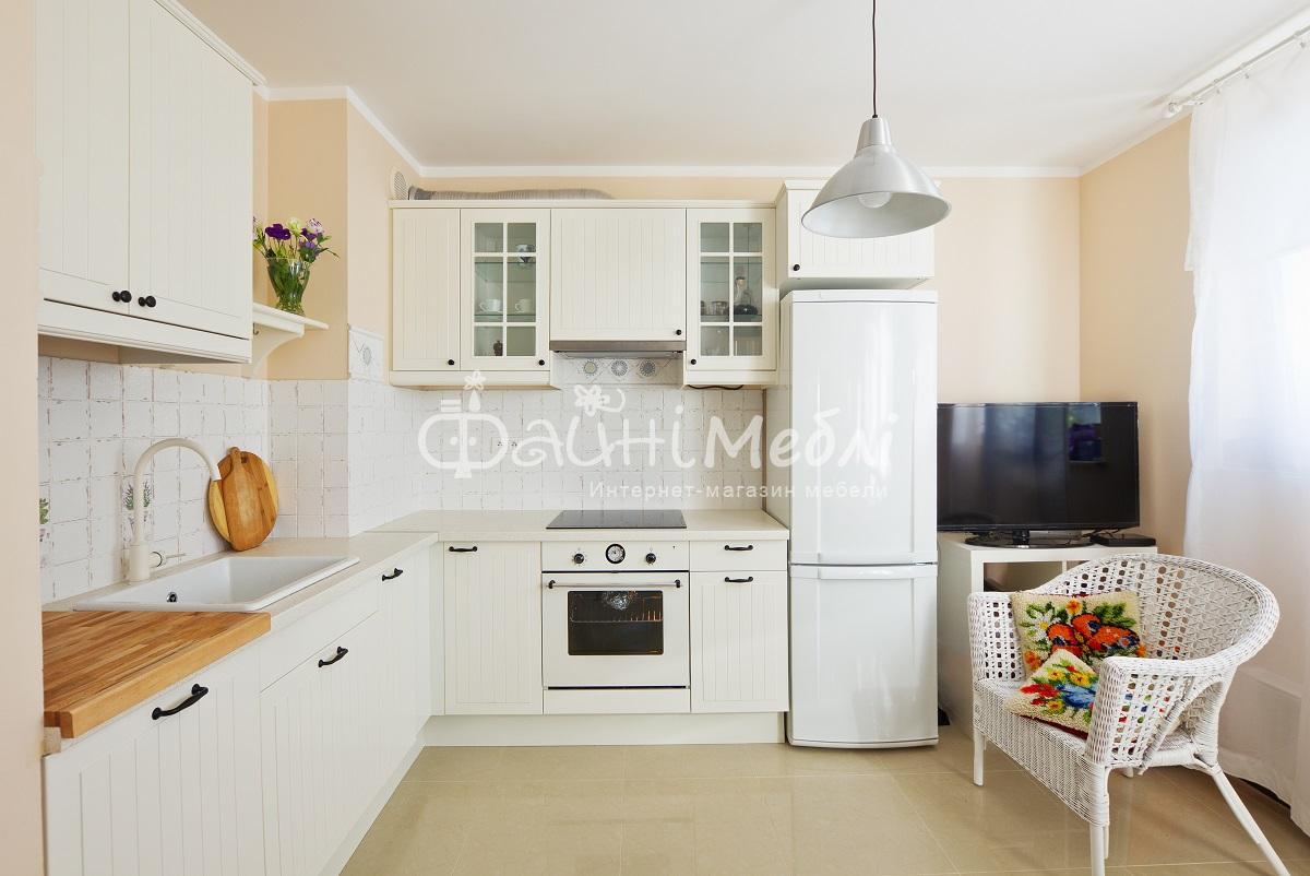 Кухни с белой столешницей фото