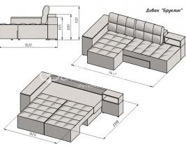 диван трансформер бруклин диван купить диван со склада в киеве