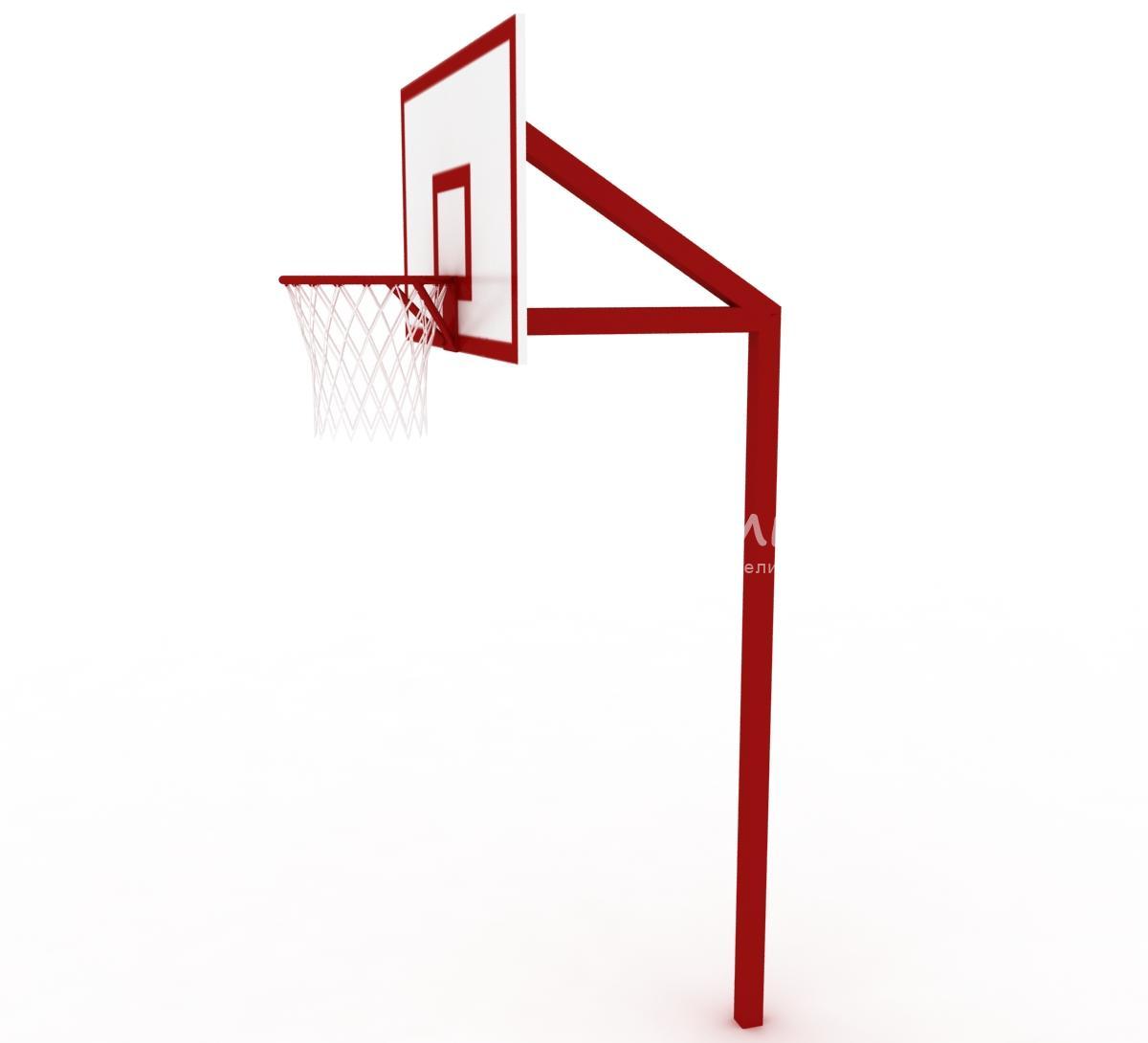 Стойка под баскетбольное кольцо своими руками